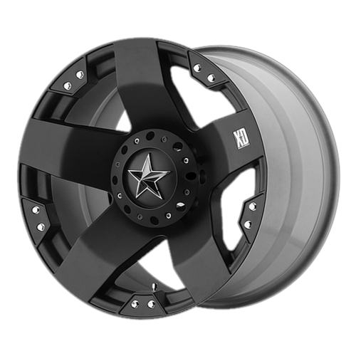 XD SERIES BY KMC WHEELS ROCKSTAR MATTE BLACK